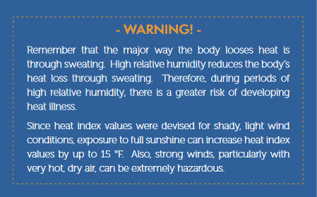 warning loosing heat