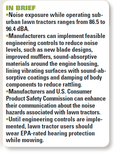 Lawn Tractor Noise Reduction | Lawn tractors are a familiar